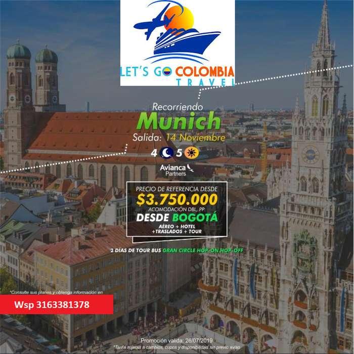 Promoción a Munich
