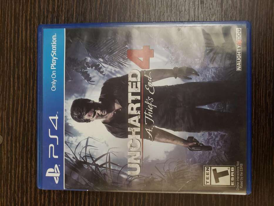 Juego PS4 UNCHARTED 4a thiefs end