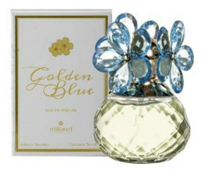 Perfume Millanel Golden Blue 50 Ml
