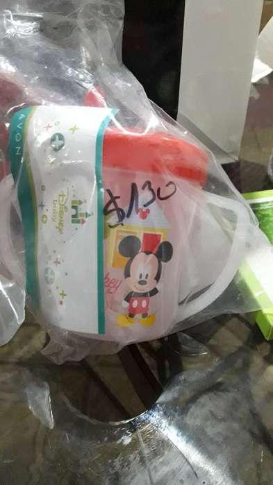Vasito Sorbete de Bebé.. Mickey Y Minnie