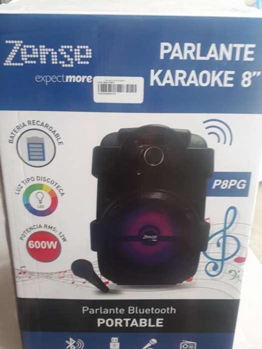 Parlante <strong>karaoke</strong>