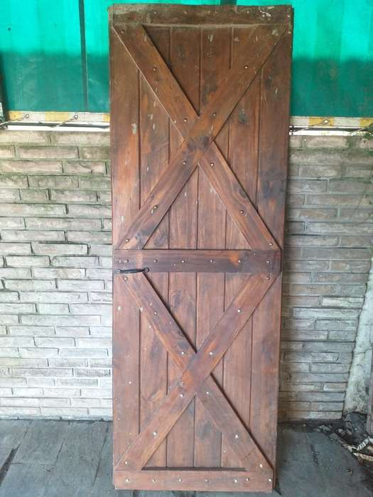 Liquido Puerta de Madera Dura 0,70x1,95