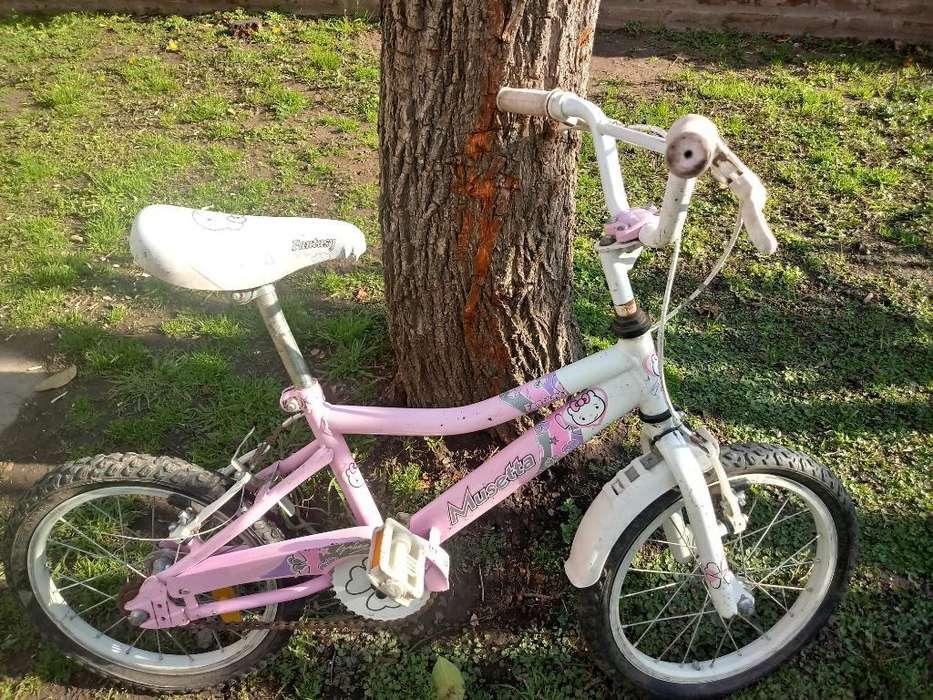 Vendo Bici Musetta Niña Rodado 16