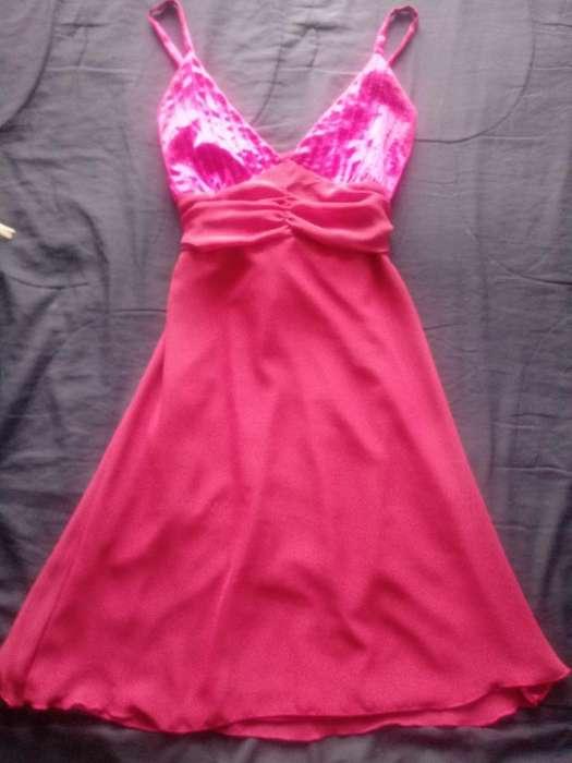 Vestido Rosa Talla S. Muy Lindo
