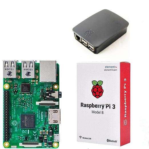 Raspberry Pi 3 Model B Wifi Case