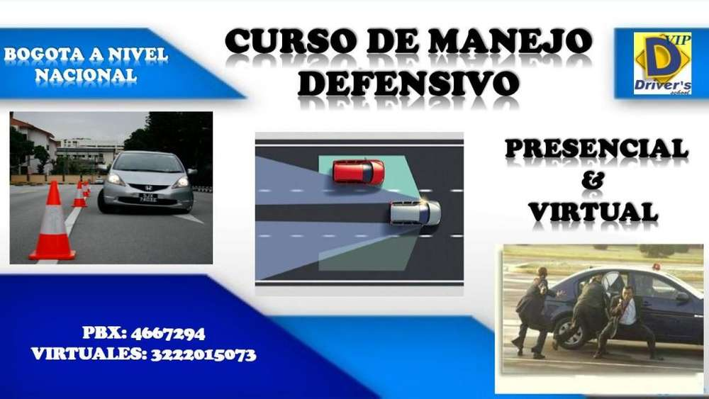 CURSO VIRTUAL Y PRESENCIAL DE MANEJO DEFENSIVO