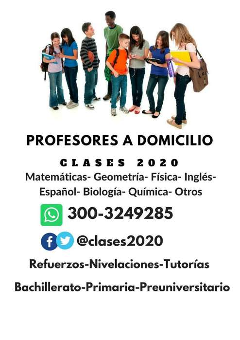 Clases Particulares. Profesores