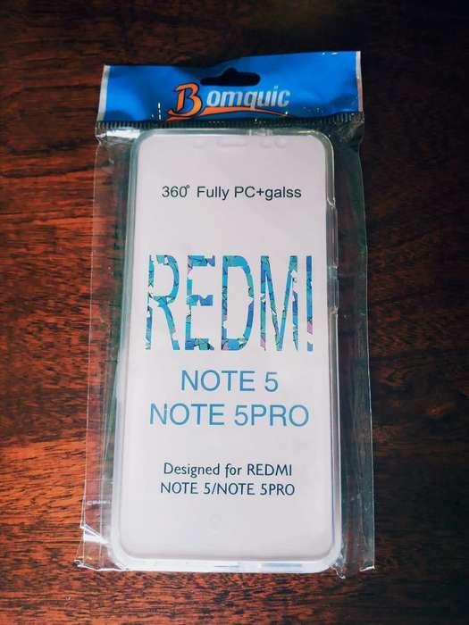 Funda para Redmi Note 5 360