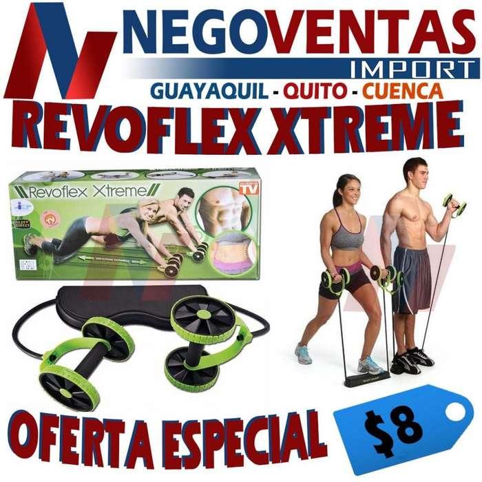 REVOFLEX EXTREME EJERCITADOR ABDOMINAL Y BRAZO