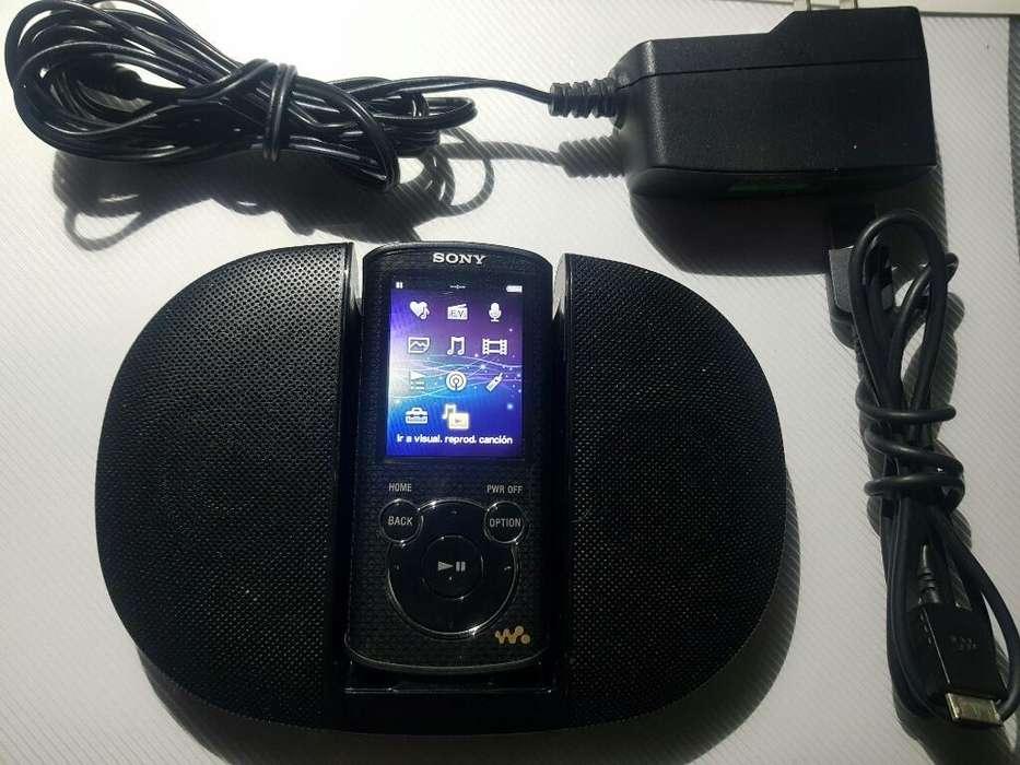 Reproductor Sony NWZ-E463 – Con Parlante de Accesorio