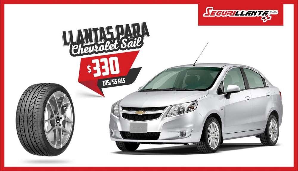 Llantas General Tire G-Max RS - Chevrolet Sail - 195/55R15 - Segurillanta.
