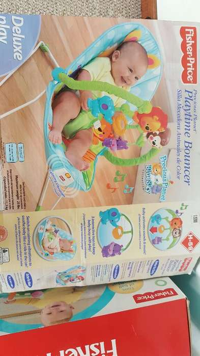 Silla Mecedora Bebe Fisher Price