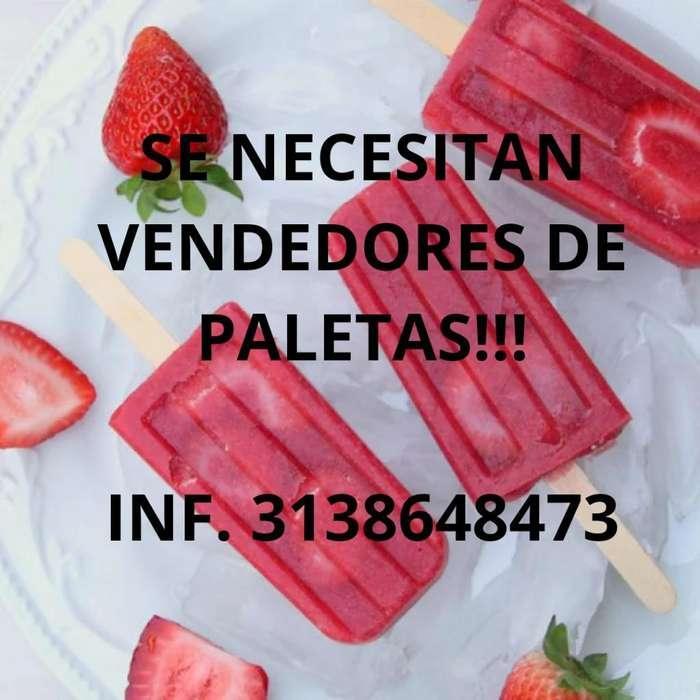 Necesito Vendores de Paleta!!3138648473