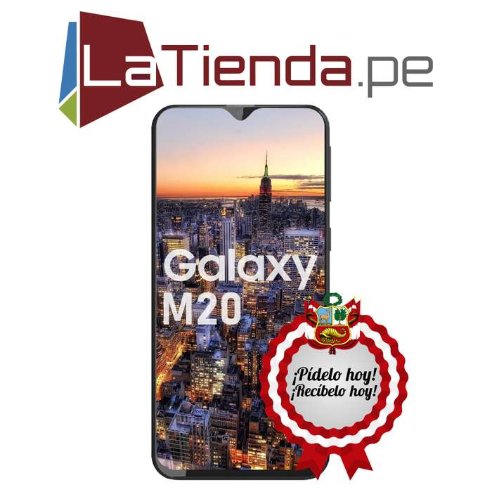 Samsung Galaxy M20 Cámara dual 13 MP 5 MP