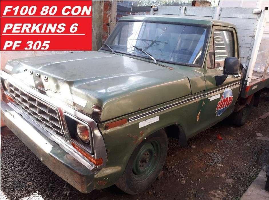 OPORTUNIDAD!!! Ford F100 80 C/perkins 6 Pf 305 100 O Permuto