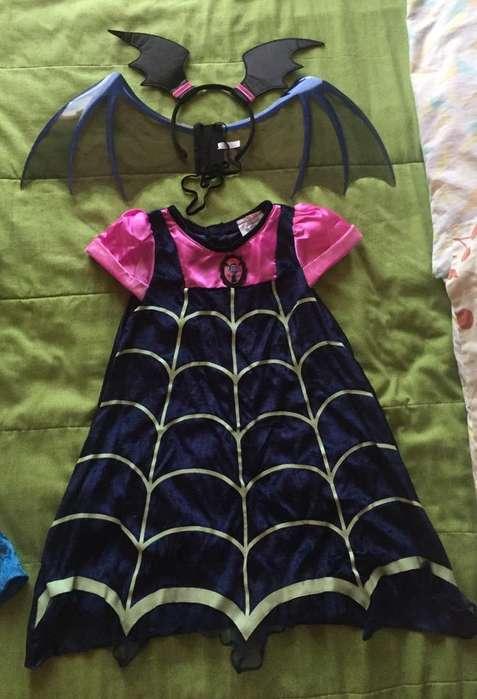 Disfraz Vampirina Talla 6 Disney