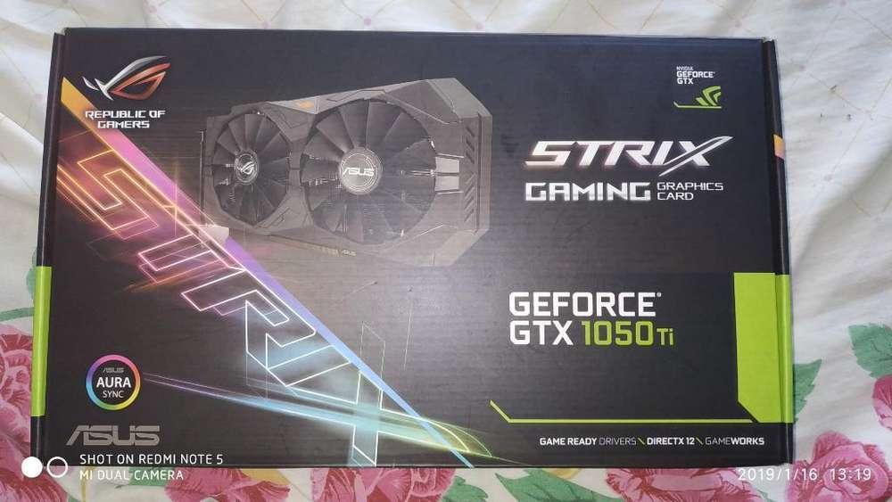 Gtx 1050ti Strix Edition