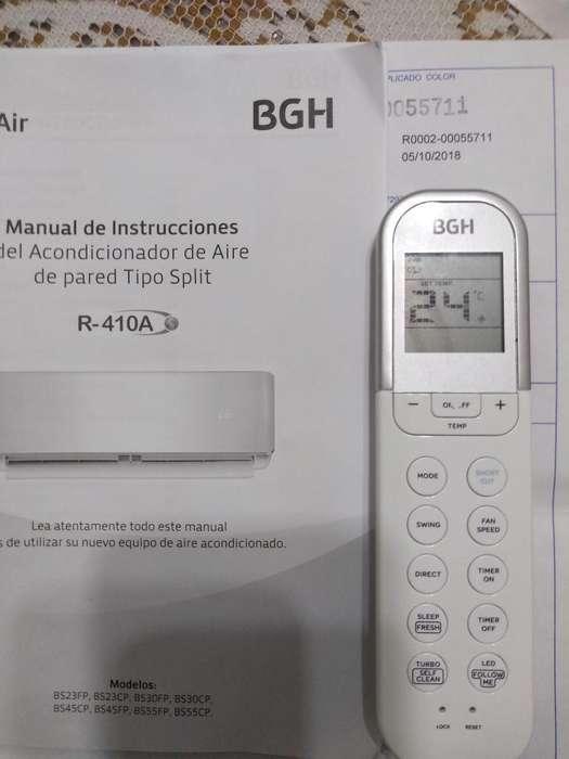 Aire Acondicionado Fro Calor Bgh S