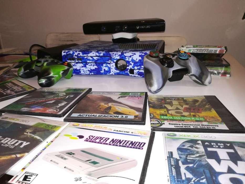 Vendo Xbox 360 con Kinet Y 25 Peliculas