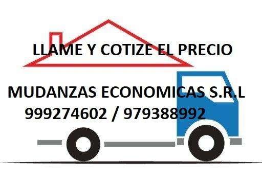 MUDANZAS Y TRANSPORTE , CARGA ,TAXI , PRECIOS ECONOMICOS LIM