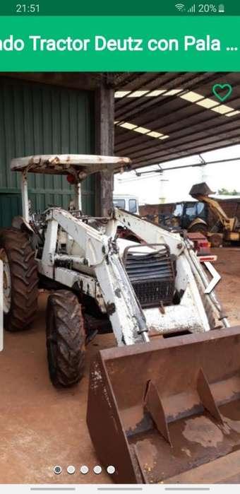 Vendo <strong>tractor</strong> Deutz con Pala Cargadora