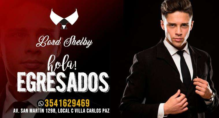 LORD SHELBY - ALQUILER DE TRAJES