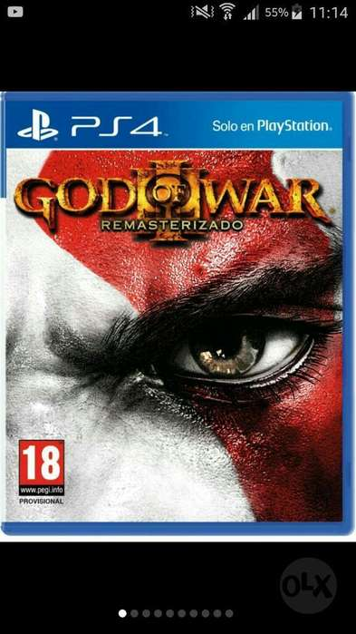 God Of War 3 Remasterizado Ps4