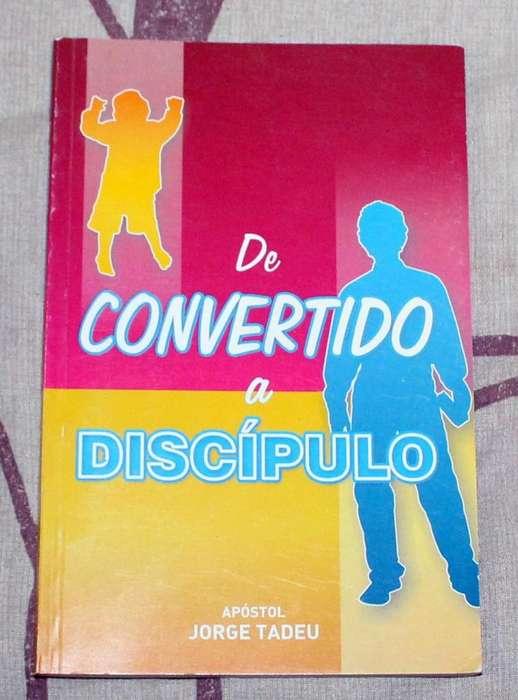 Libro De Convertido a Discípulo Apóstol Jorge Tadeu