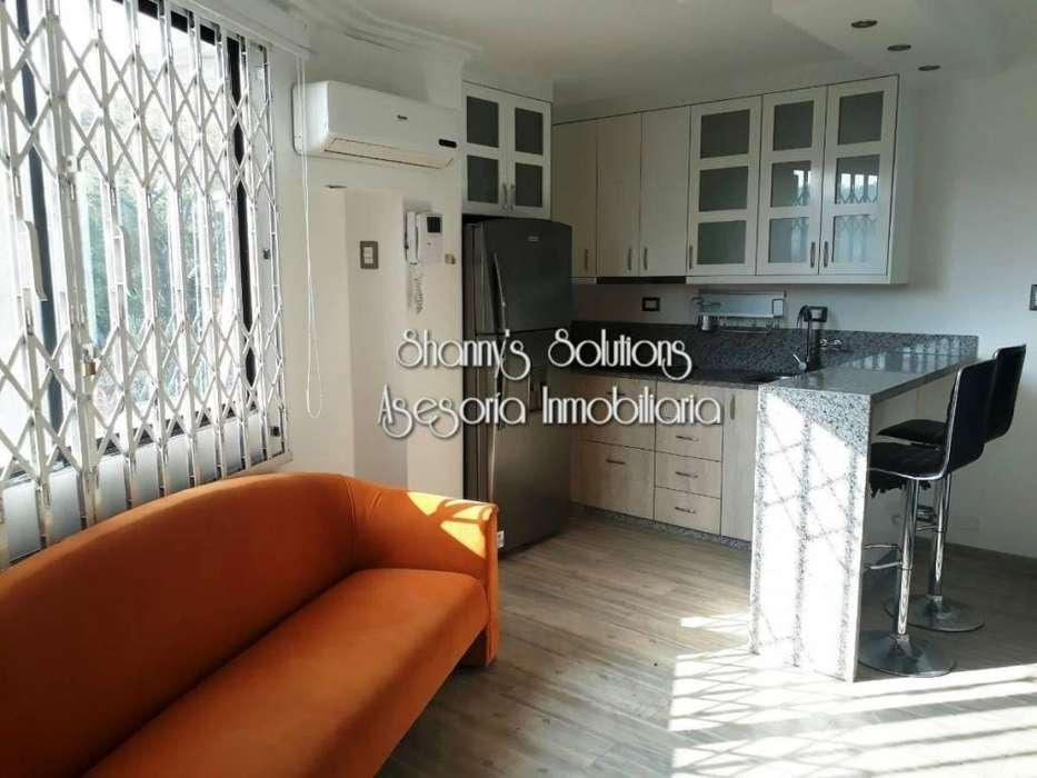 Urdesa se renta suite moderna amoblada de 1 hab con garaje en primer <strong>piso</strong>