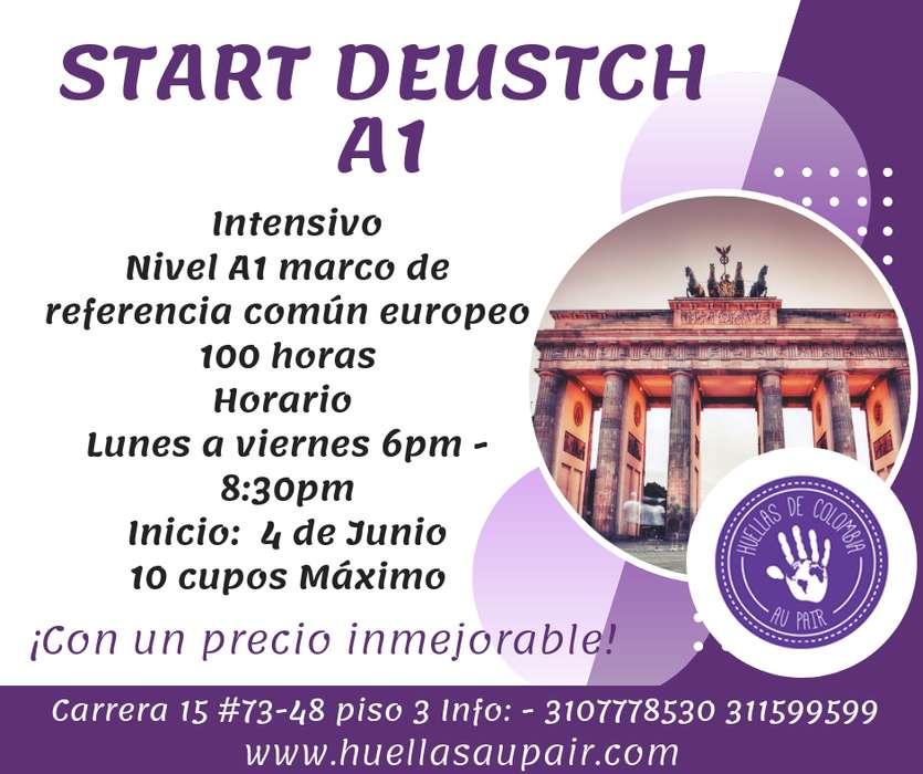 Curso de Alemán Start Deutsch a1