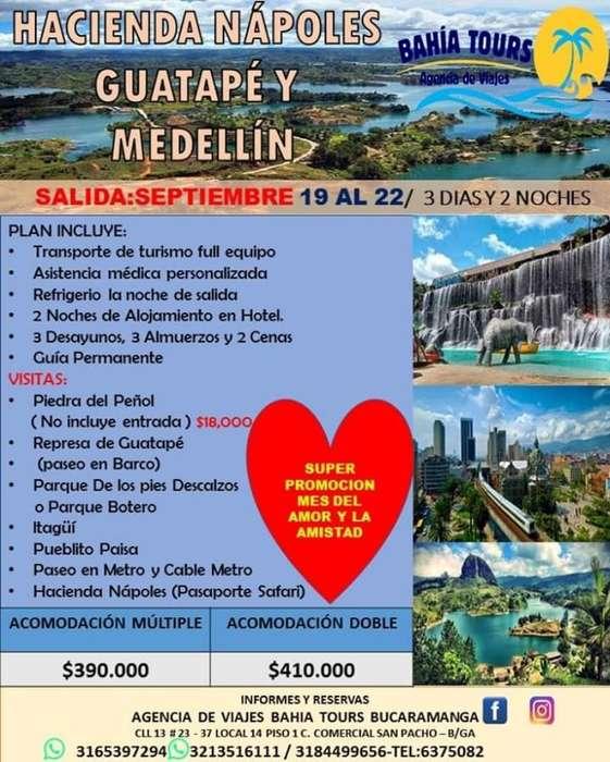 Tour Amor Y Amistad Medellin 19 de Septi