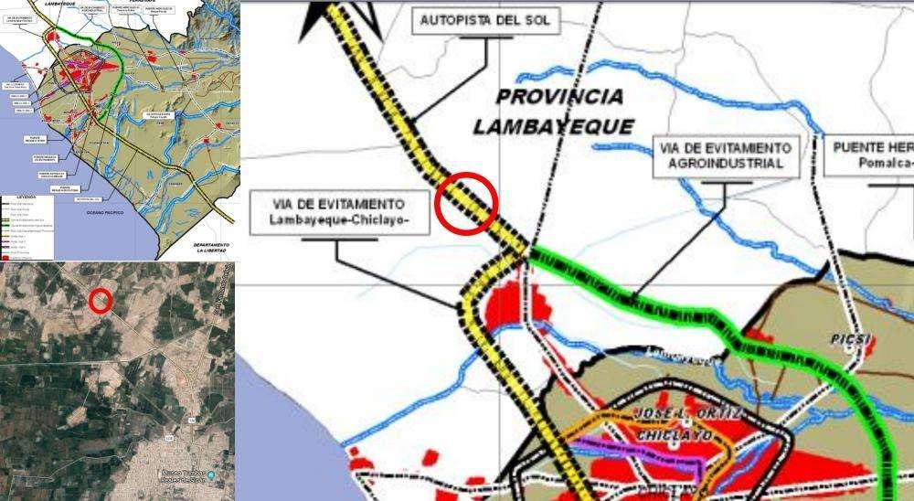 VENDO TERRENO 10,000M2 FRENTE A LA PANAMERICANA NORTE LAMBAYEQUE
