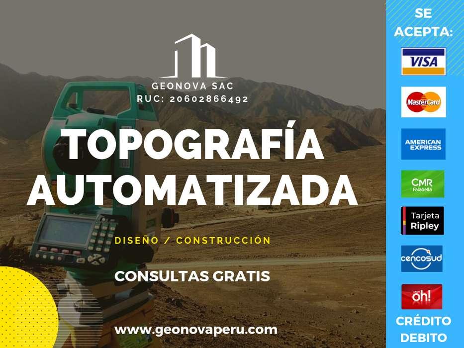 SERVICIOS ESPECIALIZADOS EN TOPOGRAFÍA Y GEODESIA / GEONOVA SAC. / 946 191359