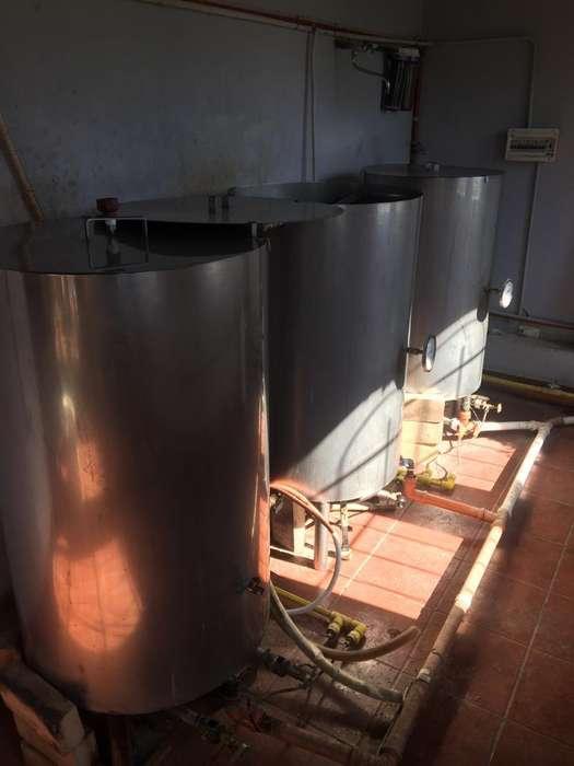 Bloque de cocción cerveza 200 lts finales