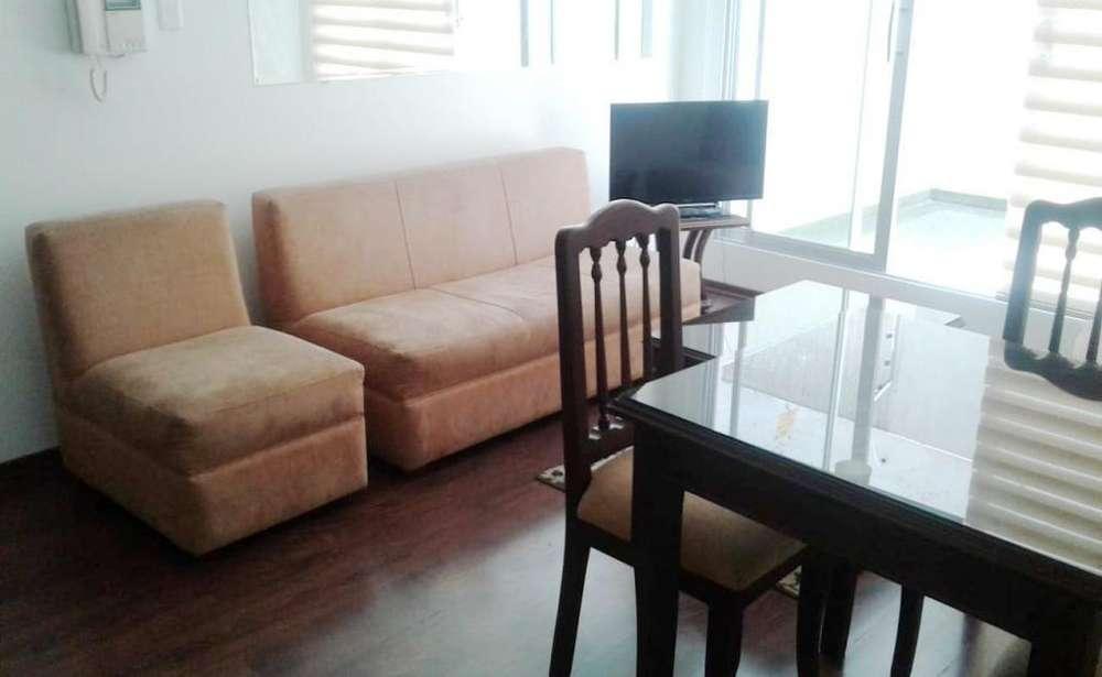 Jardines del Batan, suite, 70 m2, alquiler, amoblada, 1 habitación, 2 baños, 1 parqueadero