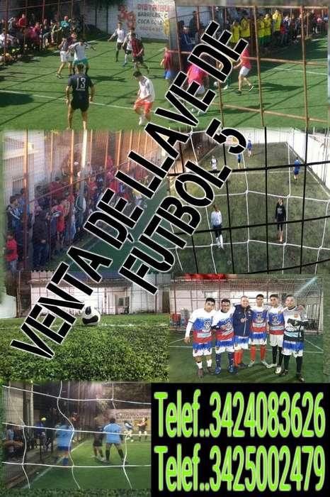 Venta de Llave de Fútbol 5