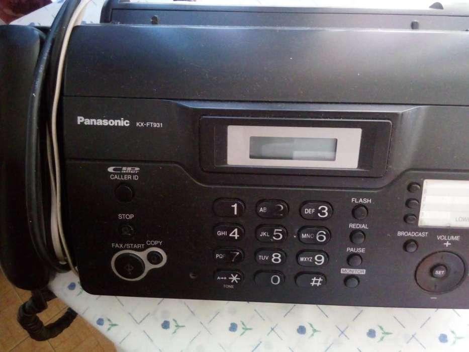 TELE-<strong>fax</strong> PANASONIC KX-FT931 USADO