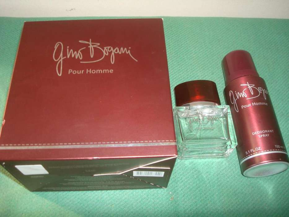 Perfume Gini Bogani Set Completo Vacio