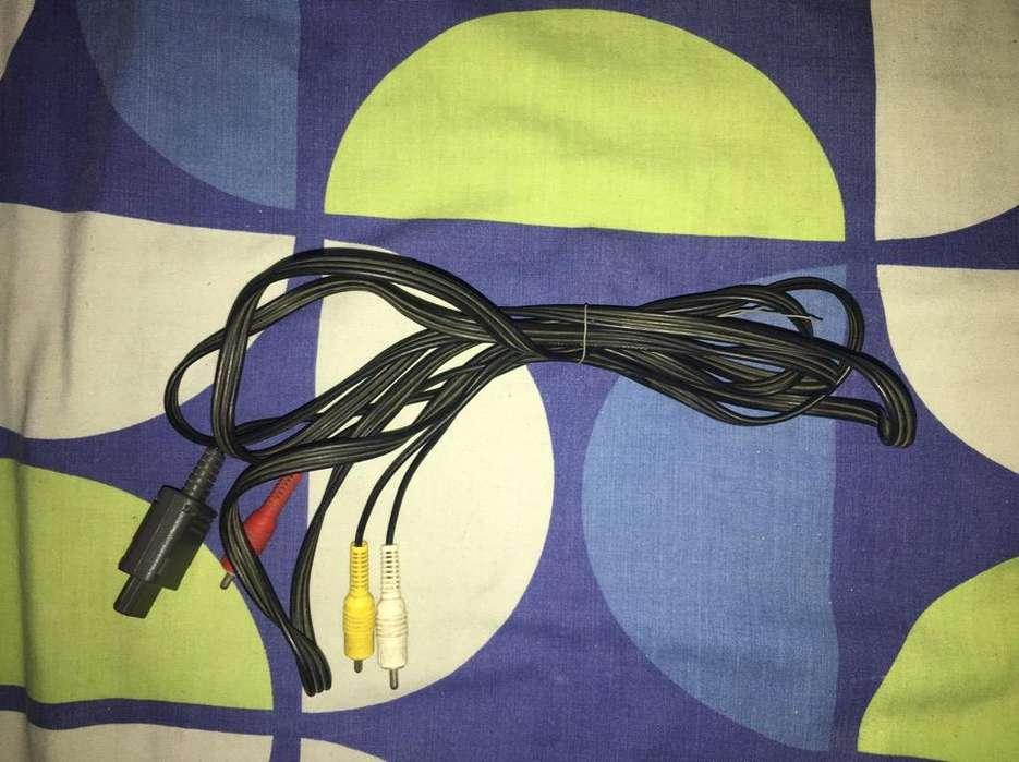 Cable de Video de Nintendo64 Buenestado