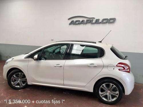 Peugeot 208 Feline 2014 */ 350000  Cuotas /*