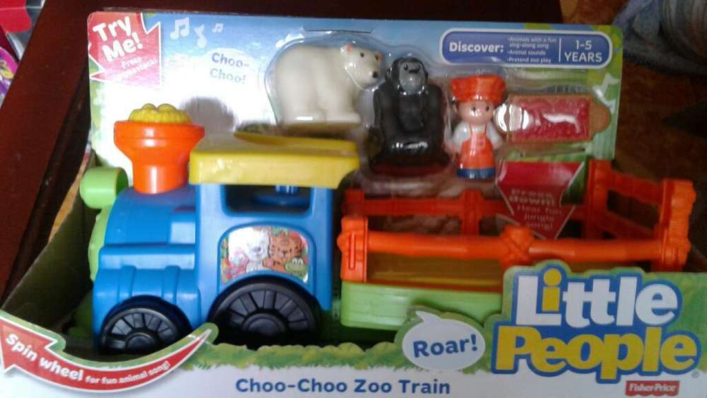 Tren Didáctico Fisher Price