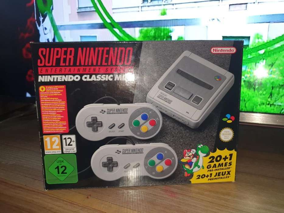 Super Nintendo Classic Mini Original
