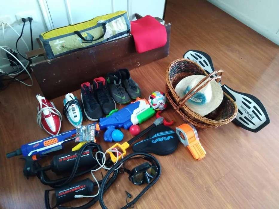Jugutes, tennis nyke, zapatos nuevos josh,patineta