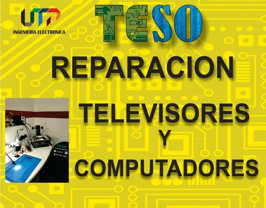 REPARACION TELEVISORES LED, LCD, PLASMA, SMARTV