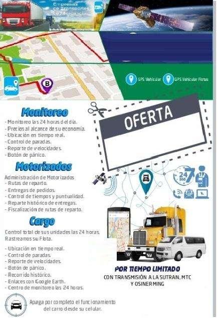 PLATAFORMA GPS - CON RETRASMICION A SUTRAN