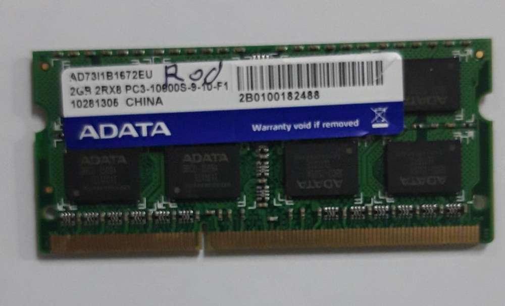 MEMORIA RAM 2GB 1Rx8 PC3 10800S911F1