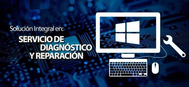 Servicio Integral de Diagnóstico y Reparación de Equipos Informáticos Diversos