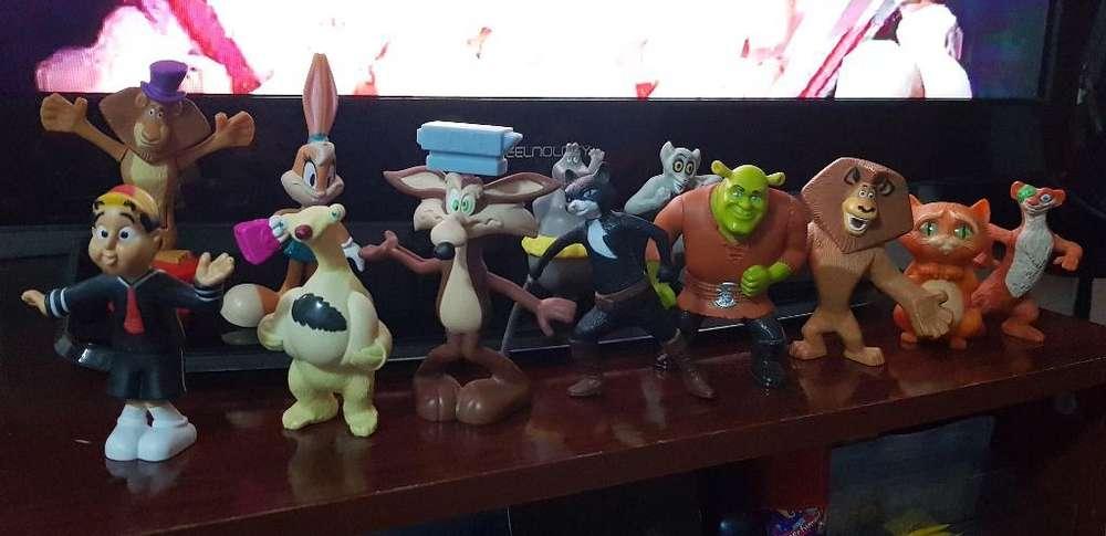 12 Muñecos de Coleccion