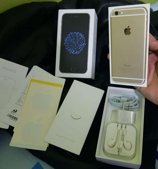 iPhone 6 de 64gb. Gold.