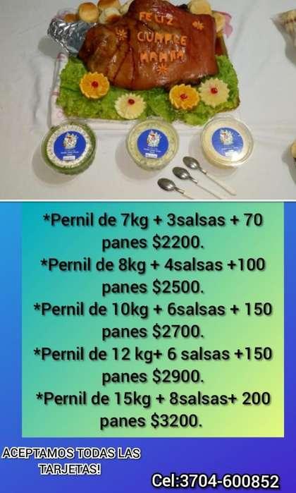 Servicios de Catering/perniles